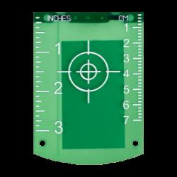 Lāzera mērķa plāksne zaļiem lāzeriem TR-G