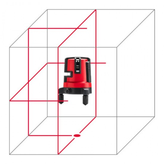Lāzera līmeņrādis Leica LINO L4P1 KALIBRĒTS