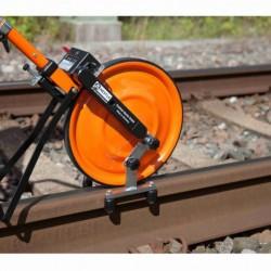 Dzelzceļa mērīšanas riteņa adapteris