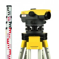 Leica optiskais nivelieris NA320 Komplekts KALIBRĒTS