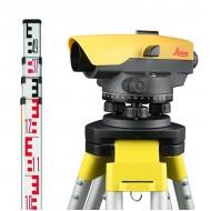 Leica optiskais nivelieris NA532 Komplekts KALIBRĒTS