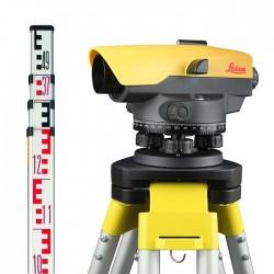 Leica optiskais nivelieris NA520 Komplekts KALIBRĒTS