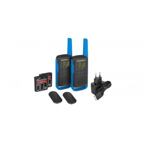 Motorola rācijas Talkabout T62 BLUE Komplekts