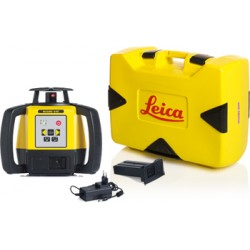 Lāzera niveliera Leica Rugby 640 + Rod eye 140 komplekts