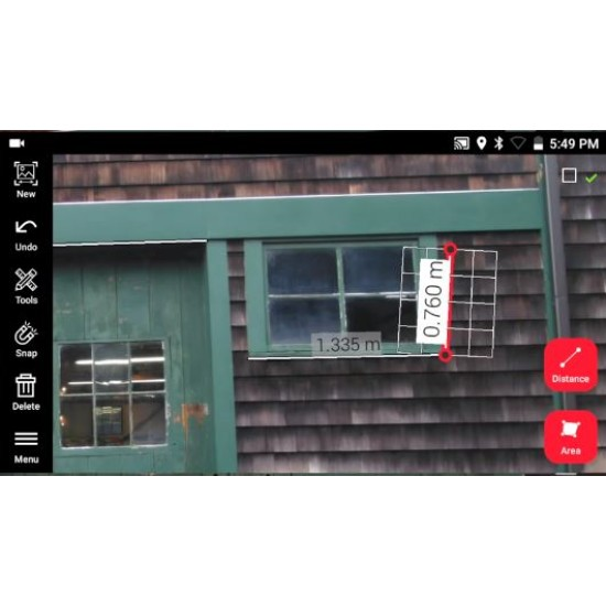 Stereo fotokamera ar 3D tālmēru Leica BLK3D (atjaunots)