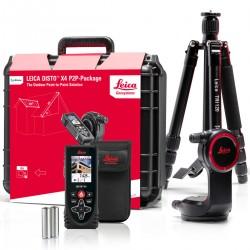 Lāzera tālmēra Leica Disto x4 P2P komplekts